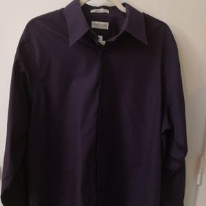 Van Heusen Eggplant Dress Shirt